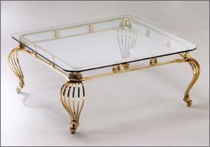 By cattaneo - Tavolini vetro e ottone ...